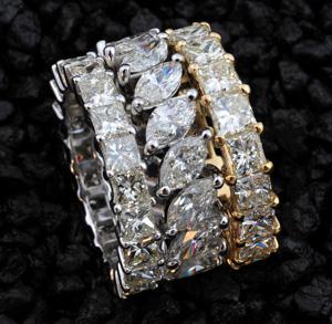 Luxus Diamantring