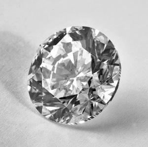 weißer Diamant